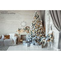 Wholesale christmas vinyl photography backdrop - thin vinyl photography Christmas backgrounds Computer Printed children Photography backdrops for Photo studio ST-649