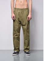 Wholesale spring japanese fashion - 2018 Spring Newest Men's Fashion Japanese Style Washed Cloth Wide Leg Pants Loose Casual Black Army Green Color Trousers