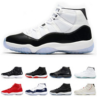 Wholesale women patent shoes online - Concord Mens Basketball Shoes s Platinum Tint CAP AND GOWN BRED LEGEND BLUE CLOSING CEREMONY HEIRESS men women sports sneakers