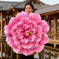 Wholesale high performance tools - 1pcs Beauty Chinese Style Peony Flower Performance Props Multi Size Color Large Theatrical Show Useful Tools High Quality 23rc4 Z