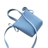bandolera bandolera bandolera al por mayor-Mini mujeres ocasionales pequeño bolso de la aleta PU bolsos de cuero Crossbody Messenger Bag Sling Hombro Bolsos monederos bolsa de teléfono