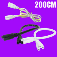 Wholesale connect plug - T5 T8 connecting wire Power cords with standard US plug for T5 T8 integrated led tubes 3 Prong 100cm 150cm Cable