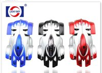 Wholesale race car wall online - 36pcs RC WALL CLIMBER CAR Remote Control Wall Floor Climbing Racing Cars Toy Electric toys Children Toys with Remote control C