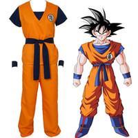 Wholesale goku costumes - Dragon Ball Z Son Goku Turtle senRu Cosplay Costume Outfits Halloween Party Uniform Shoe cover Shoes