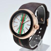 frauen uhren luxus verkauf großhandel-Heißer verkauf silikonband modemarke uhren mode uhr luxus damenuhr frau kleid quarz armbanduhr damen frau einzigartiges design