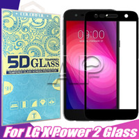 Wholesale screen for lg l9 - Screen Full Protector For Galaxy A8 2018 LG LV7 X Power 2 Champ ZTE Zmax stylo 3 plus k 10 x210