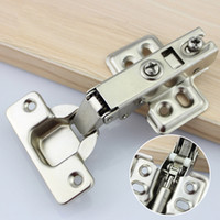 Wholesale wholesale hinges hardware - Hinge Rustless Iron Hydraulic Hinge Iron Core Damper Buffer Cabinet Cupboard Door Hinges Soft Close Furniture Hardware