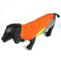 casaco de roupa de segurança venda por atacado-Novo Design Reflective Vest Waterproof Pet Vestuário Jacket Outdoor Life Safety cão roupas para cães de caça Colete Quente Casaco de Inverno