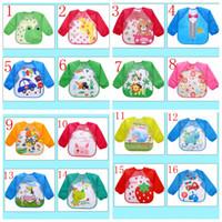 ingrosso bandana dribbling bib baby-16 stili di abbigliamento unisex accessori bandana impermeabile triangolo infantile sciarpa asciugamano dribble alimentazione grembiuli bavaglini