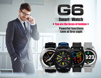 Wholesale Wholesale Home Monitoring Systems - G6 Bluetooth Smart Watch For Android IOS System Wireless Smart Watch waterproof Support Pedometer Sleep Monitor with Retail Package