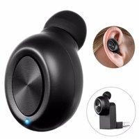 porta de carga mini usb venda por atacado-Bluetooth Sem Fio Mini Único Fone de Ouvido Redução de Ruído X17 Porta de Carregamento USB HD HIFI Som Compatível Música Ouvir Tocar