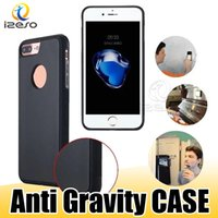 Wholesale gravity case online - For Samsung Note Phone Case Luxury Anti Gravity Cellphone Back Cover for Galaxy S9 S8 Plus iPhone X