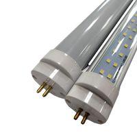 4ft 28w leuchtstoffröhre großhandel-Großhandel!!! Zweireihig T8 mit T5 Ende LED Leuchtstoffröhre 4FT 28W Leuchtstoffröhre T8 AC100-305V 4000lm 1200mm 4 Fuß Röhren 192St