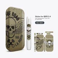 ingrosso adesivi mod box mod-IQOS Adesivo Graffiti 2.5D Stereo Film PVC Materiale Vape Cover Sticker Sigaretta elettronica Pelle Per IQOS Box Mods Vape Case