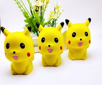 Wholesale New Cartoon Doll - New Arrival Decompression Toys Yellow Poke Go Doll Slow Rising Squishies Cartoon PU Simulation Squishy