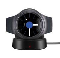 au reloj al por mayor-Cargador inalámbrico tipo reloj inteligente de adsorción magnética cargador inalámbrico Adecuado para samsung gear S2 / S3 reloj base de carga