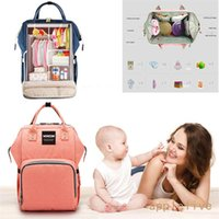 Wholesale Large Mummy Multifunctional Baby Diaper Nappy Backpack Mom Changing Travel Bag Bags