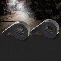 stangenhalterhalterung großhandel-2 stücke 50 MM Auto Bull Bar Nudge Bar Halterung Rohrschelle Aluminiumlegierung Halter Universal Für Led-scheinwerfer Bar Arbeitslicht