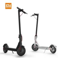katlanabilir tahta toptan satış-Orijinal Xiaomi Mijia M365 Akıllı Elektrikli Scooter katlanabilir mi hafif uzun kurulu hoverboard kaykay 30 KM kilometre APP ile