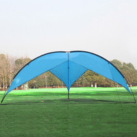 Wholesale Large Camping Tents - Super Large Outdoor Velarium Triangle Breathable Rain Proof Tents Practical Waterproof Anti UV Sunscreen Shelters Easy To Carry 155rt B