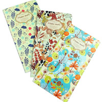 ingrosso carta fata-1 pz / lotto 173 * 90mm New fairy Flower World serie Corea Kraft Paper travel notepad stile Diario blank planner interno vendita al dettaglio