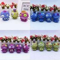 pequeños juguetes blandos al por mayor-Vent Toys descompresión niños regalo del cabrito plástico cemento Kuso Monster Soft Little Creative Doll Trick más barato 6cd V