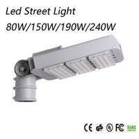 módulo al aire libre al por mayor-El módulo más nuevo de la luz de calle del diseño LED del CE RoHS 80w 150W 190w 240W llevó la iluminación de calle llevada solar al aire libre de las luces del camino de la farola