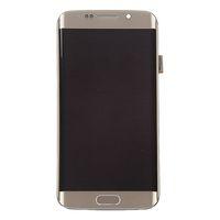 digitalizador lcd s6 edge al por mayor-100% probado AMOLED teléfono LCD para Samsung Galaxy S6 Edge G925F G925A G925P pantalla LCD con Touch Digitizer Sticker