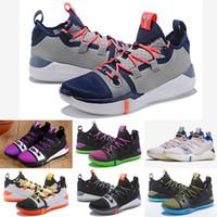 brand new 13914 e251a 2018 Kobe A. D. Mamba Day EP Sail Mehrfarben Mens Basketball Schuhe  AV3556-100 Kobe Bryant Sport Turnschuhe Athletic Basket Ball Größe 7-12