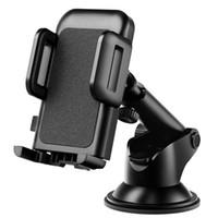 gel-mount-auto großhandel-Auto-Telefon-Einfassungs-Halter-starkes klebriges Gel-Auflage mit Ein-Touch Entwurfs-Armaturenbrett für iPhone X 8 7 Samsung-Anmerkung 9 S9 S8 Huawei