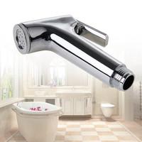 bi metal toptan satış-Banyo Tuvalet ABS Bide Bezi Duş Temiz Kafa Püskürtme Püskürtücüler Kadın Aracı Yeni