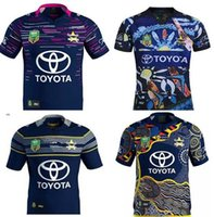 df23469c74f 2017-2018 NORTH QUEENSLAND COWBOYS 2017 HOME JERSEY Captain America Marvel  Ltd Edition Rugby Shirt 2017 18 Cowboys rugby shirts size S-3XL