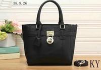 Wholesale Dark Brown Hobo Handbags - free shipping New Top quality fashion famous brand women casual tote bag PU handbags Shoulder Tote Bags purse