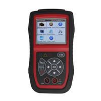 escáneres de código de enlace automático al por mayor-Autel Autolink AL439 OBDII EOBD CAN Code Reader Scanner Auto Diagnostic Scanner Prueba eléctrica Herramienta de escaneo