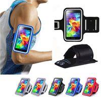 su geçirmez telefon tutacağı toptan satış-Iphone X için Su Geçirmez Spor Koşu Kol Bandı Kılıfı Egzersiz Kol Bandı Tutucu Pounch Cep Cep Telefonu Kol Çantası Bandı
