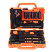 Wholesale electronics precision tool kit for sale - Group buy JAKEMY in Professional Electronic Precision Screwdriver Set Hand Tool Box Set Opening Tools for Cellphone PC Tools Kit