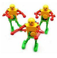 Wholesale robot toys for kids for sale - Walking Dancing Robots Toys Degrees Clockwork Wind Up Dancing Robot Toy For Baby Kids Developmental Gift Party Favor CCA10015