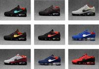 Wholesale 13 Wide - VaporMax 2018 KPU Mens SneakersCasual Walking Shoes Man Zapatillas 13 Colors Size 40-47