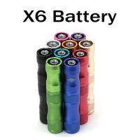 Wholesale electronic cigarettes x6 battery online - X6 Battery for Electronic Cigarette mAh VV Battery V V V Variable Voltage X6 Battery for Electronic Cigarette mAh
