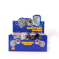 ingrosso bullet forma erbe-Nuovo Design Bullet Shape Herbal Herb Tabacco Grinder Materal Smoke Grinders mano Muller Magnetic Spedizione gratuita