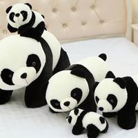 Wholesale giant pandas toys for sale - 10CM Panda Plush toy kawaii Cute Stuffed Animals dolls Kids Toys inch juguetes dorimytrader giant teddy bear kaws anime hello kitty cartoon