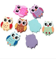 Wholesale mix silver jewerly - 200pcs lot Mixed Wood Owl spacer Beads Jewerly Accessories 21x18mm for DIY Making