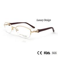 b5f90d2516816 gold metal eyeglass frames Canada - Sorbern High Quality Women Metal  Eyeglasses Frames Optical Diamond Luxury