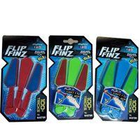 lider bıçak toptan satış-LED Işık Up Dekompresyon Parmak Oyuncak Dönebilen Balisong Fidget Spinner Oyuncaklar Flip Finz Döner Kelebek Bıçak Anti Stres 12xc BB
