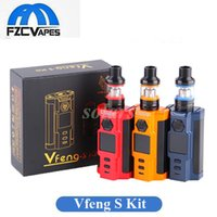 Wholesale Single Band - Authentic Laisimo Snowwolf Vfeng S 230W Kit with 2.8ml T3 Tank with LED Band Robert Style Vape Kit 100% Original