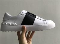 ingrosso appartamenti vestono scarpe per donna-Designer di lusso Scarpe casual Rockrunner Leisure Shoes Uomo Donna Sneakers Sport Scarpe da skateboard Appartamenti Scarpe da sera Sport Tennis