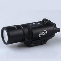 Wholesale rifle torches resale online - Tactical lumens LED Rifle Flashlight X300 Lanterna White Light Torch For Rifle