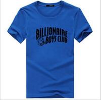 Wholesale bbc color - Brand designer -2018 summer men BBC T-shirt Hot New Spring Fashion Brand O-Neck Sleeve tops Trend Casual Men T-Shirt Korean