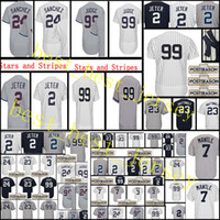 Wholesale Green Mantle - Men's #99AaronJudge 3 Babe Ruth 7 Mickey Mantle 23 Don Mattingly Jersey High quality 100% stitched Embroidery Baseball Jerseys