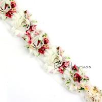 rosas de chiffon surradas venda por atacado-BRISTLEGRASS 1 Quintal 2.5